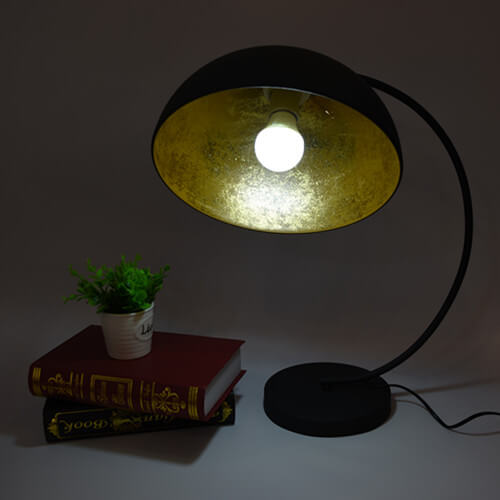 vintage arc table lamp
