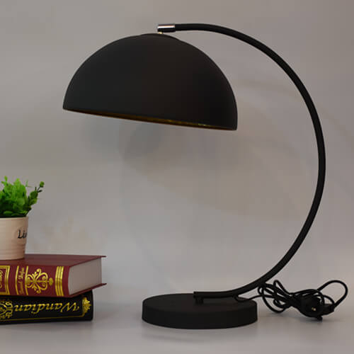 metal vintage arc table lamp