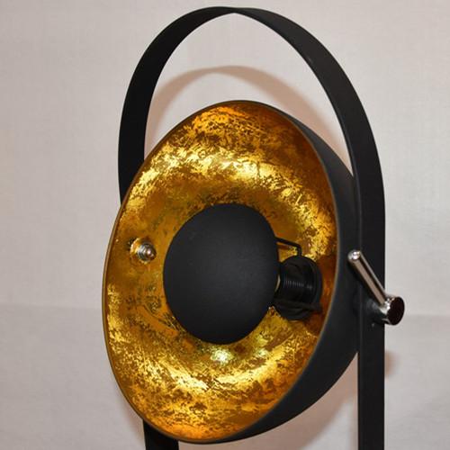golden sun reflector floor lamp