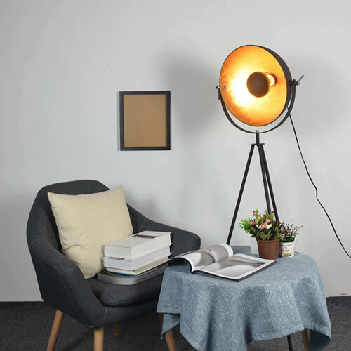 vintage tripod floor lamp simple