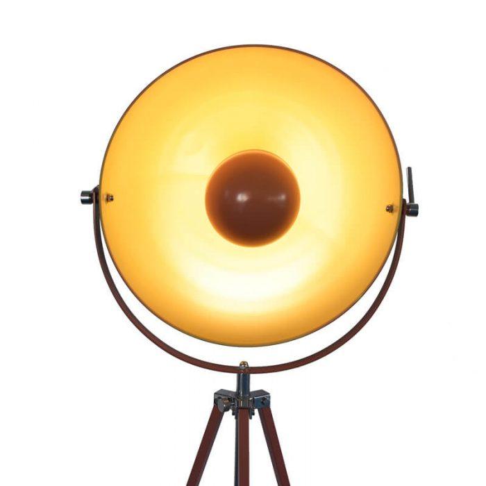 intage europe Satellite tripod floor lamp