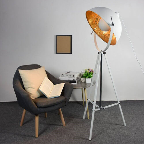 floor lamp industrial Hollywood Satellite floor lamp