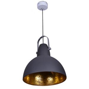 Industrial pendant lamp gold chandelier