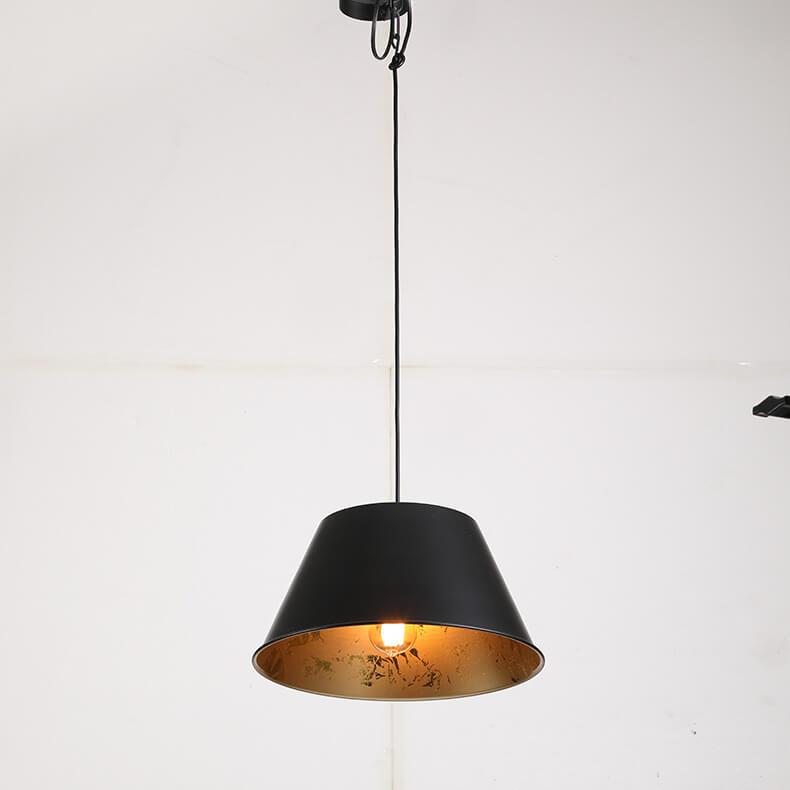 Metal chandelier gold lamp vintage lamp chandelier