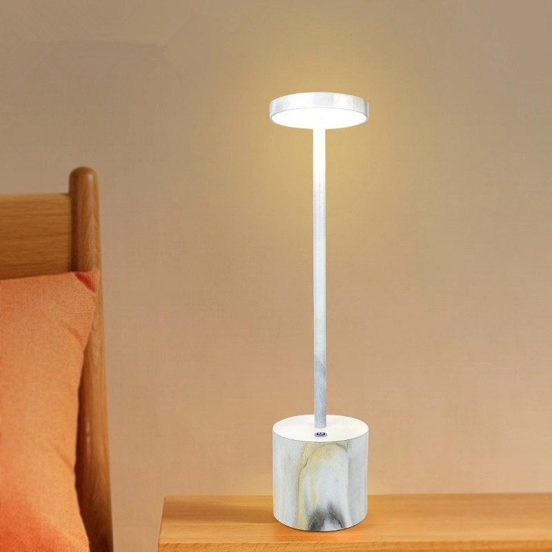 Cordless lamps for tables marble view