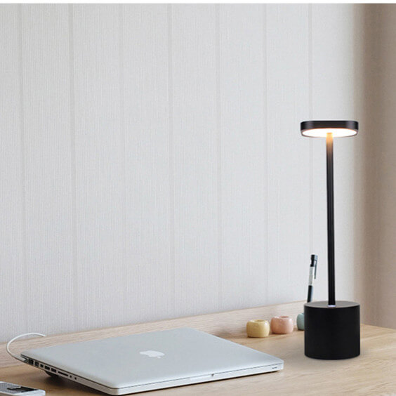 black battery lamps for tables