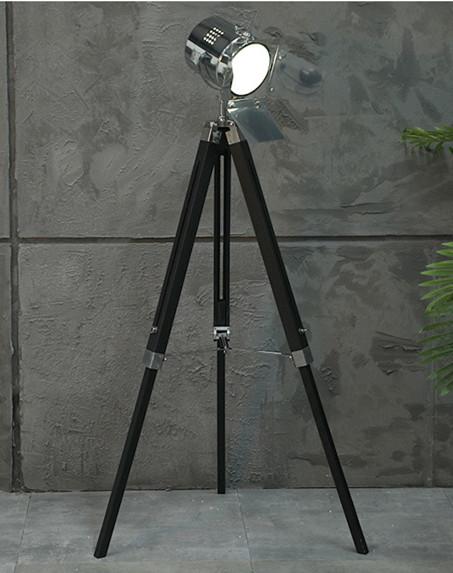 black table lamp bedroom tripod floor light