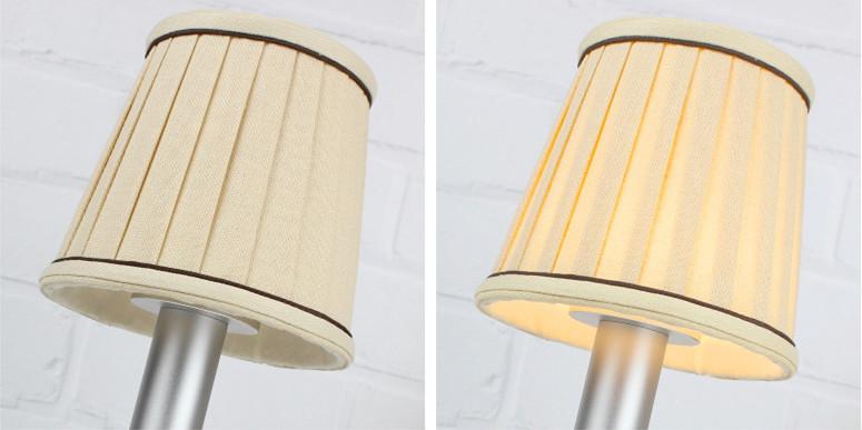 fabricshade led wireless lamp