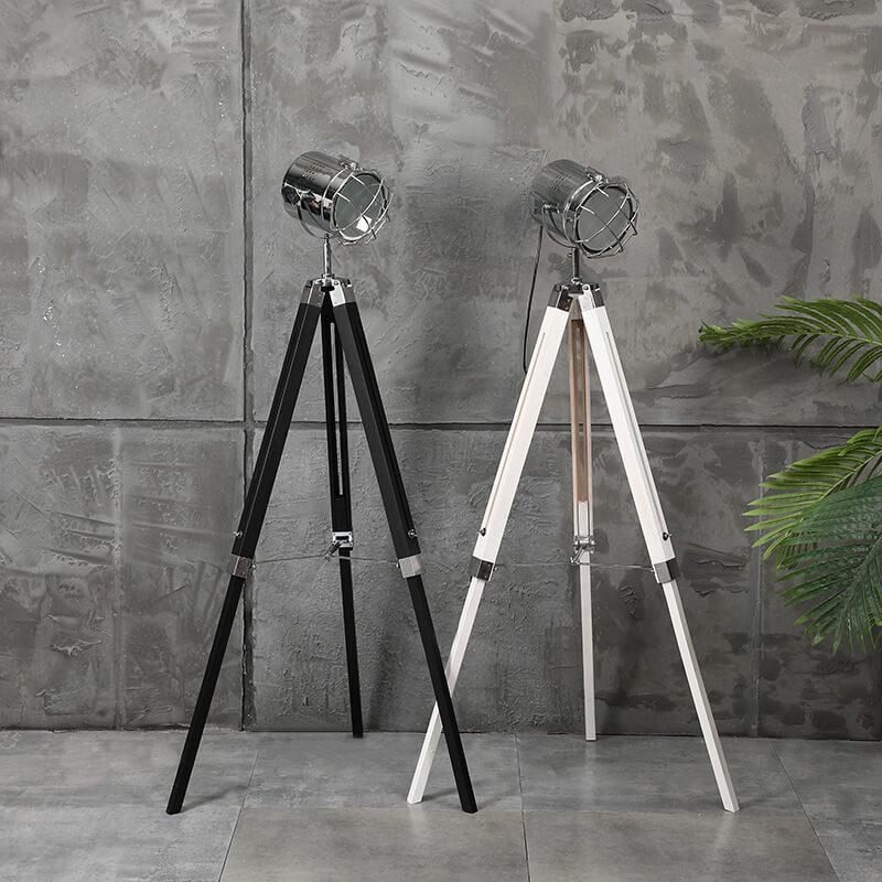 floor lamp adjustable black white color