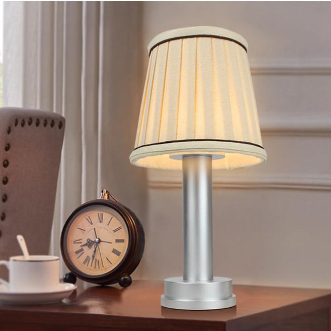 led wireless lamp fabric shade