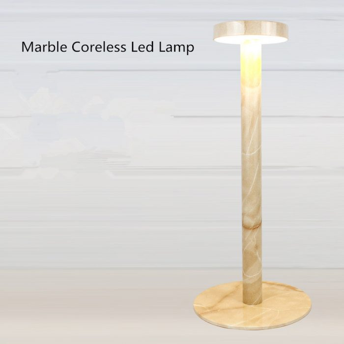 marble coreless hotel lamps