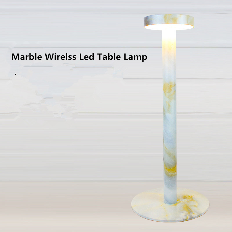 marble coreless led hotel lamps