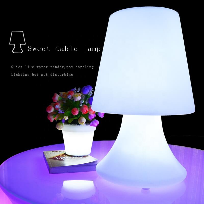 portable small table lamp