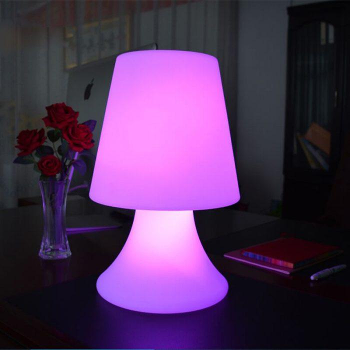 remote control small table lamp