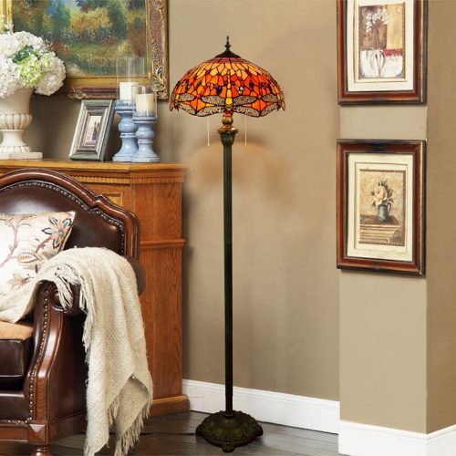 tiffany lamp stand light for living room