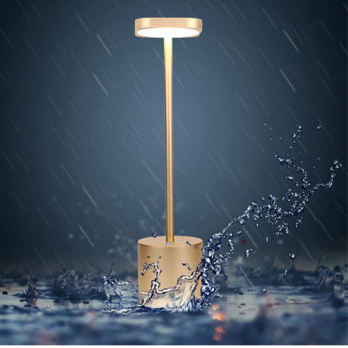 waterproof battery lamps for tables