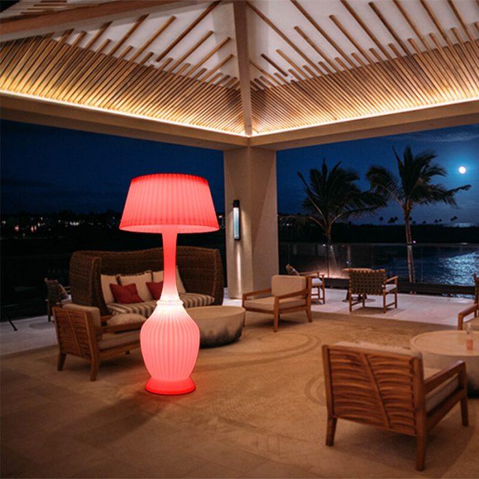 waterproof outdoor floor lamp